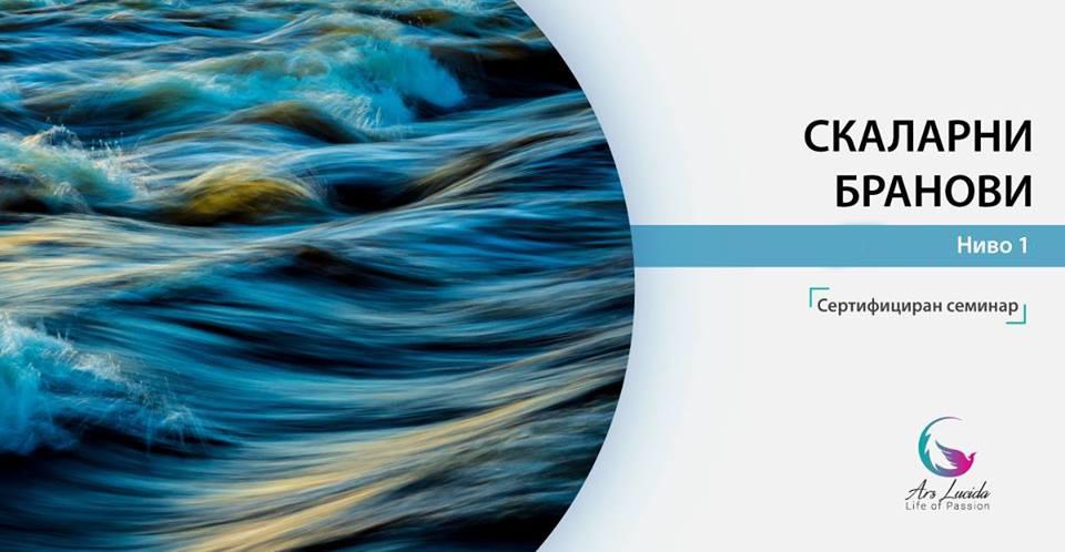Скаларни бранови Ниво 1 – Сертифициран семинар (9-10 март/10ч-14ч)