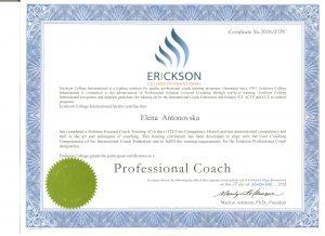 Erickson Professional Coach