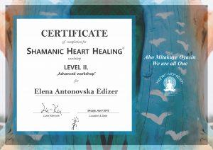 Shamanic Heart Healing- Level 2 - Elena Antonovska Edizer - 2016-04