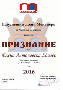 Women Manager 2016